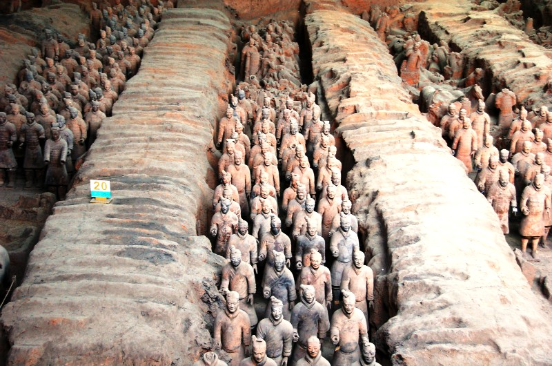 Terracotta Warriors and Horses Museum.Pit One