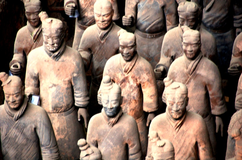 Terracotta Warriors and Horses Museum.Xian China