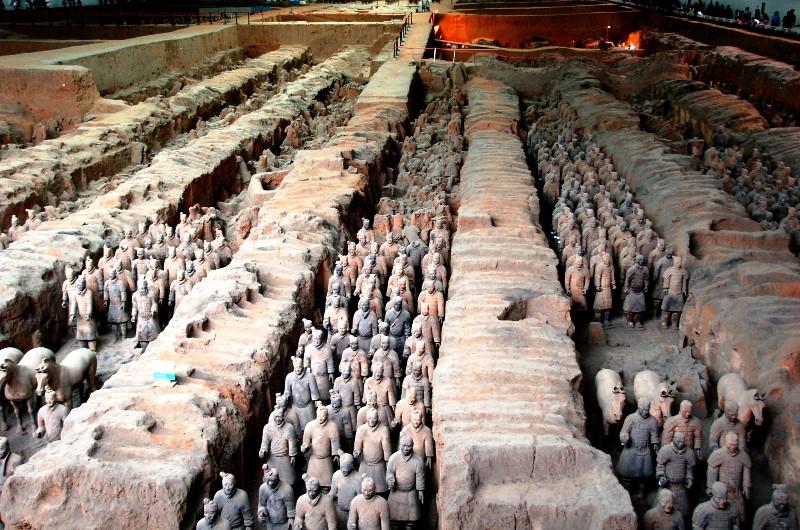 Terracotta Warriors and Horses Museum.Xi'an ChinaJPG