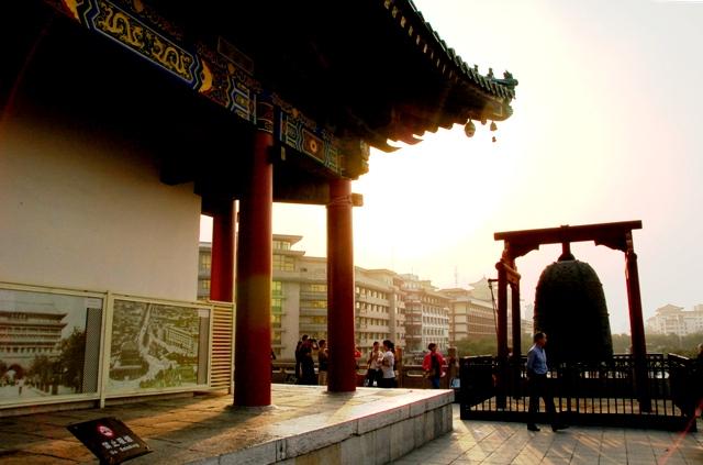 Xi'an Bell Tower. Xi'an China