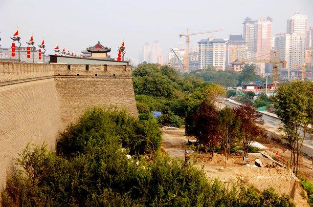 Xi'an City Wall.China.TongaTime