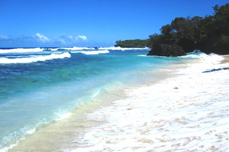 Beach at Tafua Savaii, Samoa