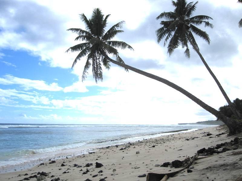 Beach in Neiafu Savaii, Samoa