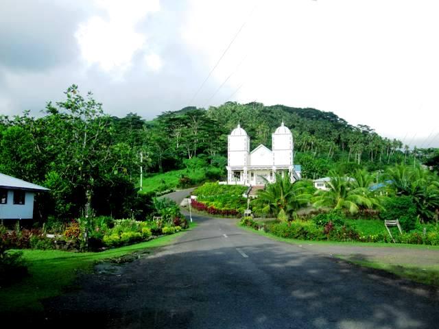 Church in Upolu, Samoa