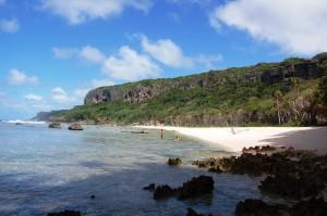 View of Fangatave, 'Eua (Tonga)