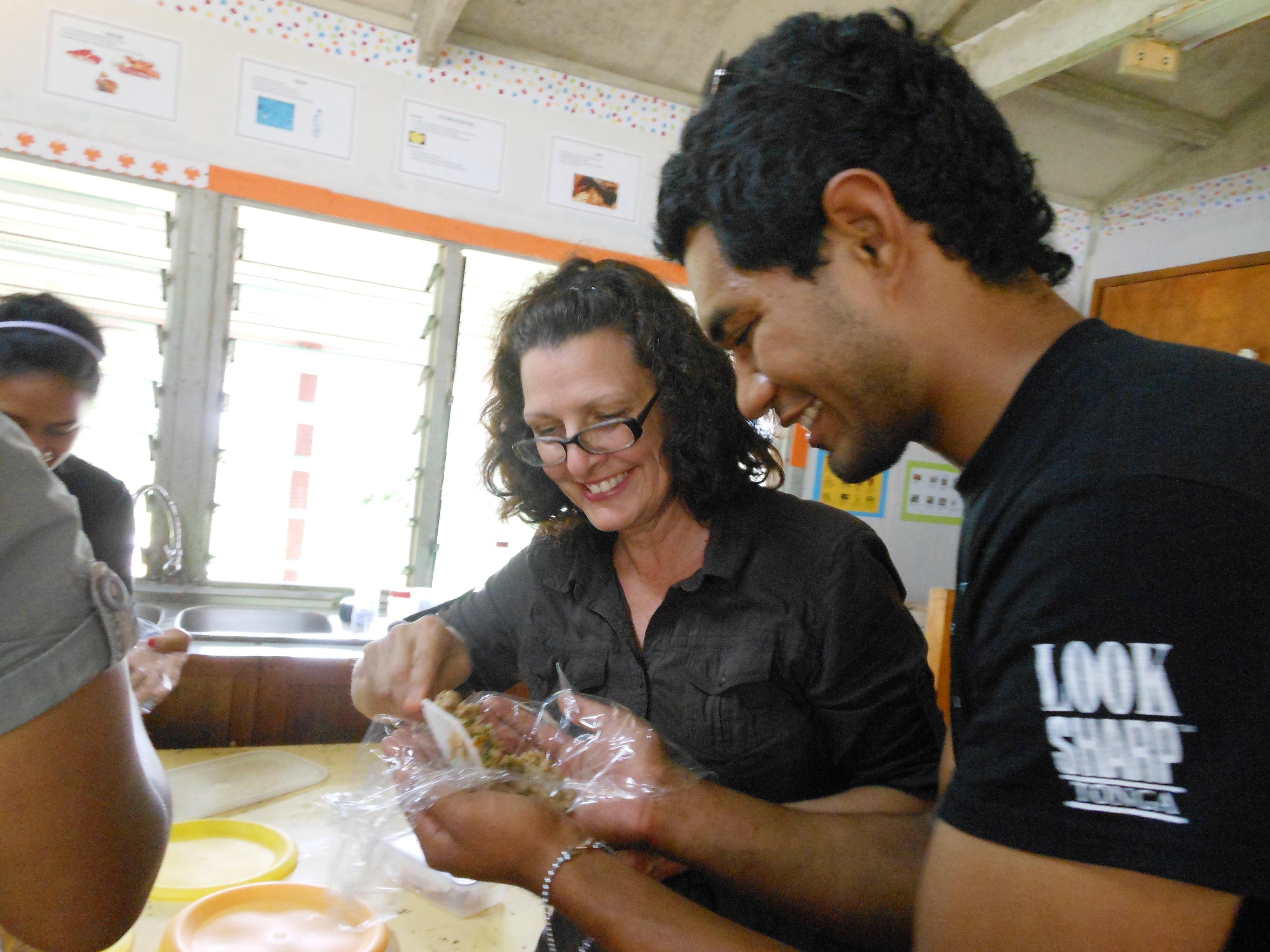 Home Ec class Tonga 2012
