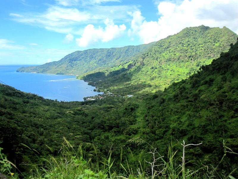 Le Mafa Pass Area Upolu Samoa