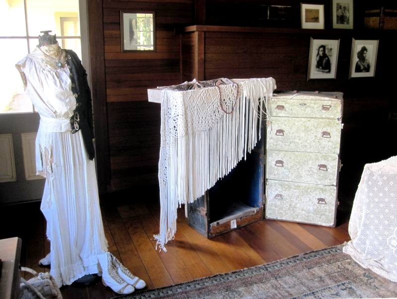 Robert Louis Stevenson Museum in Vailima.Fanny's Bedroom