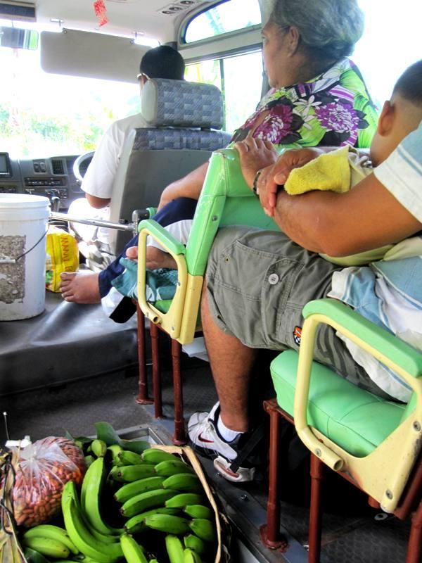 Savai Bus Ride.Samoa