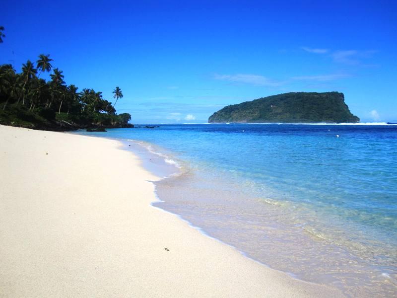 Southeast Side of Island (2009 tsunami area) and Lalomanu beach (5)