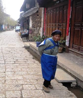 Naxi Woman in Baisha Old Town, China