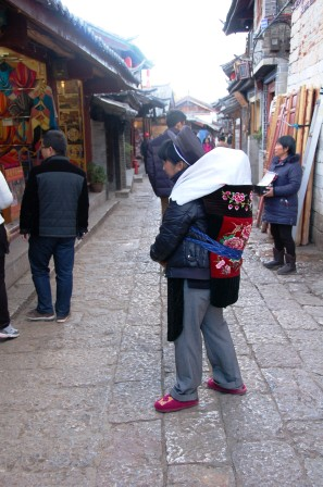 Naxi Woman and Baby (Lijiang)