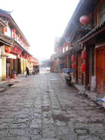 Shuhe Old Town near Lijiang, China