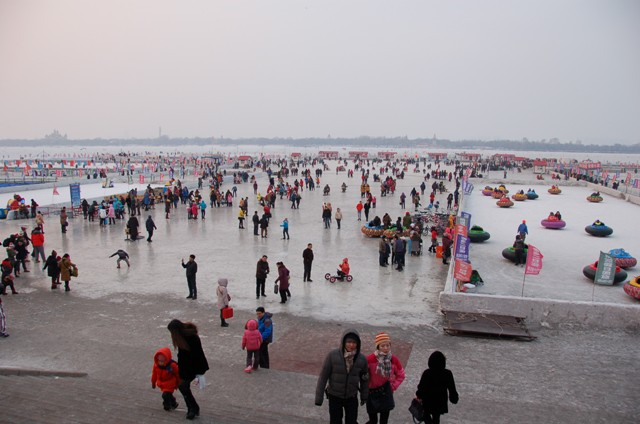 Songhua River.Harbin