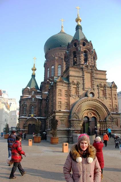 St. Sophia Cathedral.Harbin