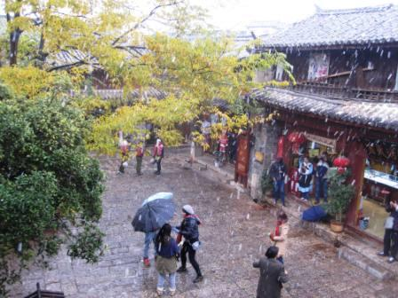 View from N's Kitchen.Lijiang