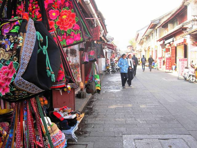 Shops in Dali Old Town