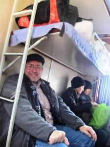 Our Hard Sleeper Seats!