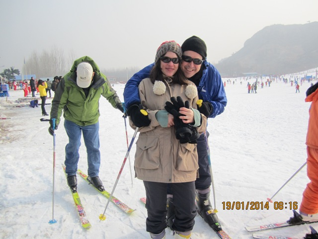Skiing in China