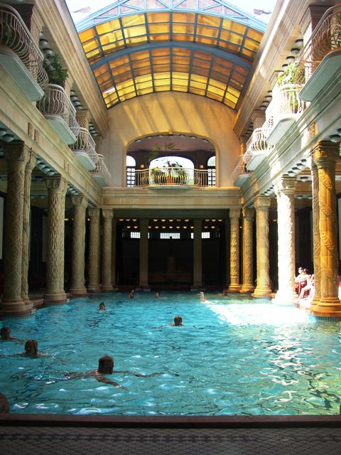 Gellert Hotel and Spa, Indoor Pool