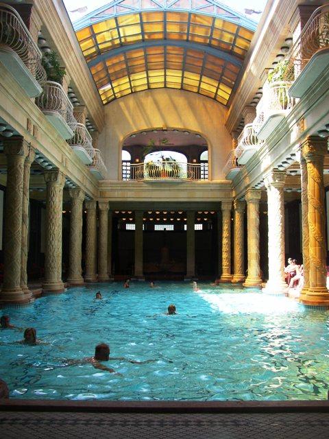 Gellert Hotel and Spa, Indoor Pool