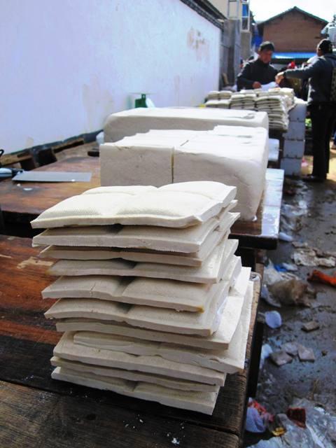 Shaxi Friday Market Pressed Tofu