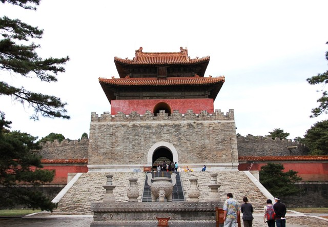 "Entrance to Emporer Qianglong's Tomb (a/k/a ""Yu Ling""), Eastern Qing Tombs, north China"