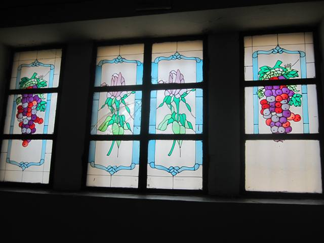 Qingdao Protestant Church Faux Stained Glass Windows.