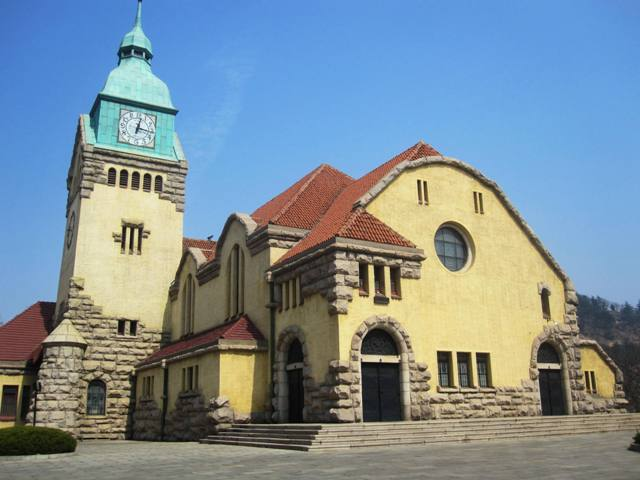 Qingdao Old Protestant Church completed in 1910