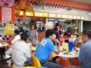 Hong Kong Cooked Market Stalls