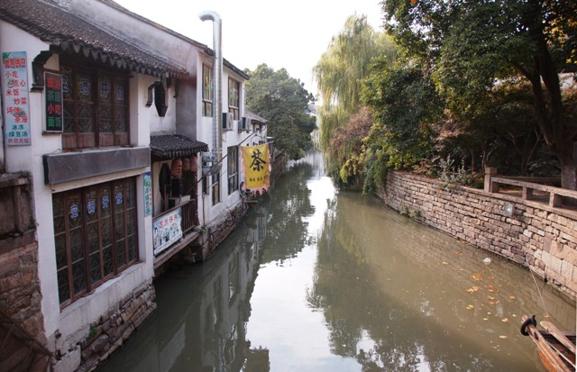 Canals in Suzhou Residential Area