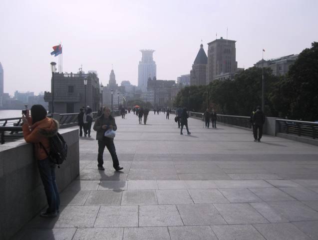 The Bund Promenade, Shanghai