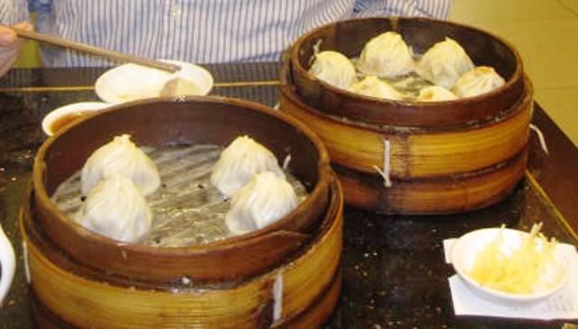 Shanghai's Famous Steamed Dumplings