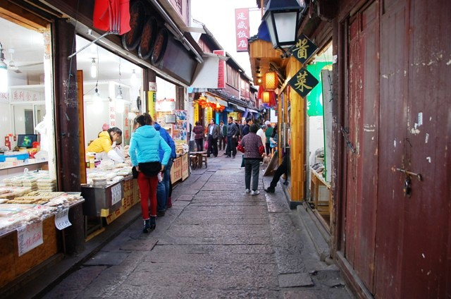 Food and Craft Stalls in Zhujiajiao Old Town