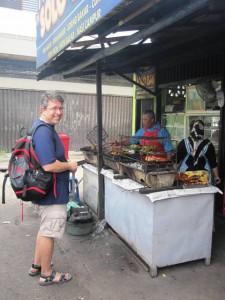 Sam at Kebun Sayur Market, Balikpapan
