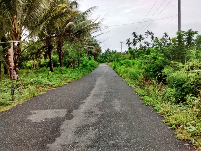 Bike Route to Village