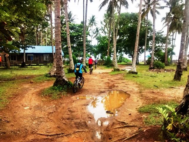 Returning from Beach Area. Penajam, Indonesia
