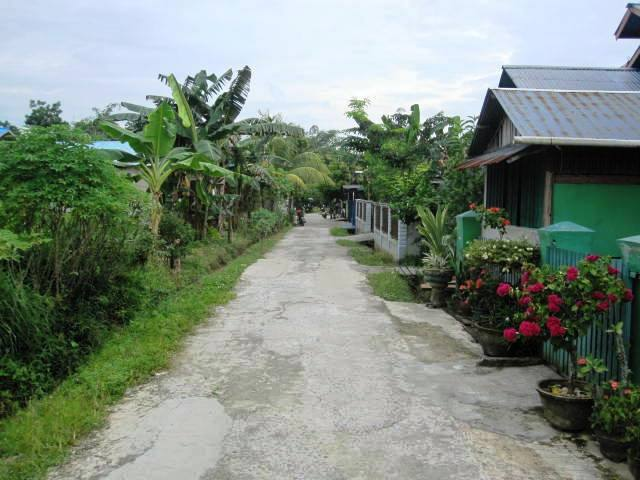 An exceptionally pretty kampung (village)