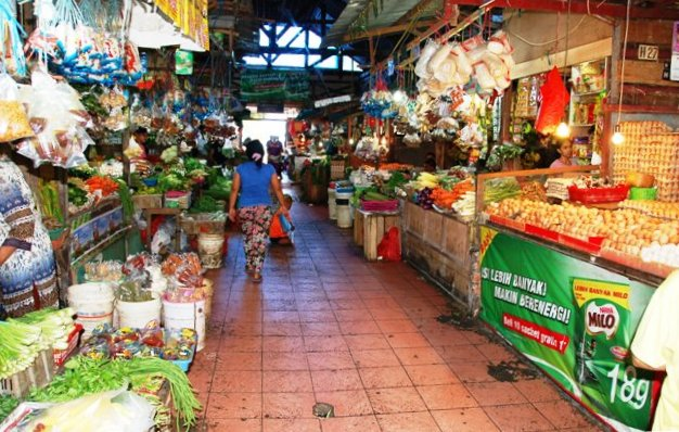 Inside Pasar Klandasan