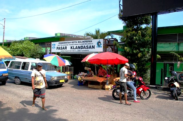 Pasar Klandasan.Balikpapan Kalimantan Indonesia