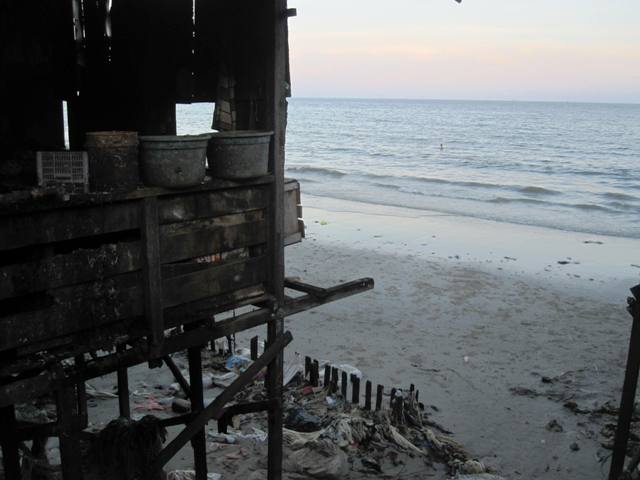 View from Klandasan Pier