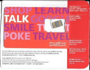 Hotlink SIM card