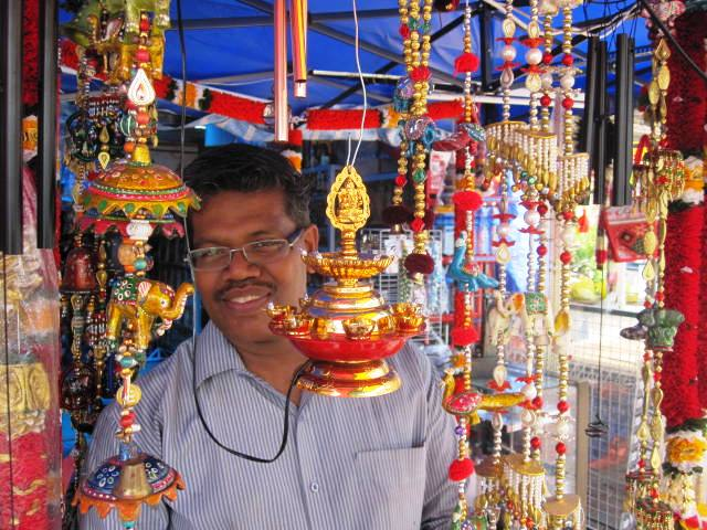 Batu Caves Vendor