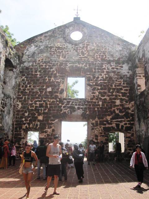 Ruins of St. Paul's Church, Melaka