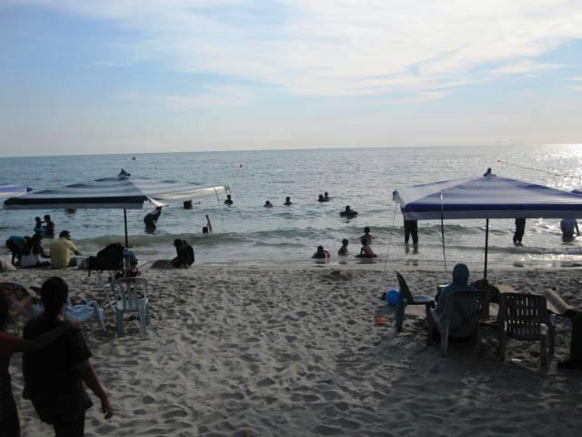 Port Dickson public beach, Malaysia
