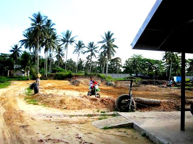 Motorcross course, Manggar beach