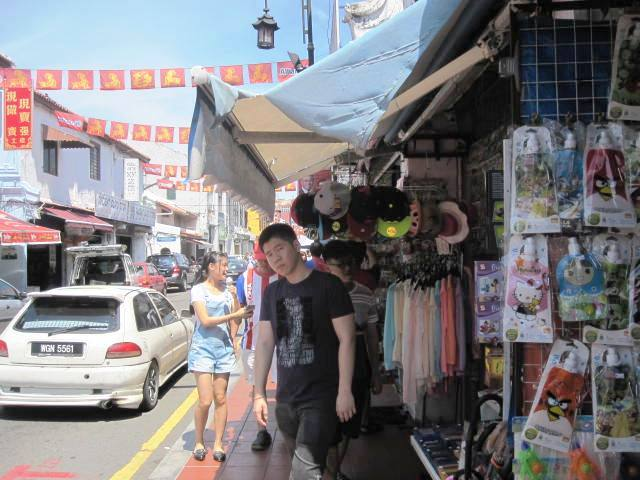 Shops along Jonker Street