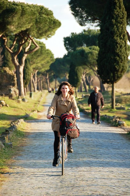 Me on the Appian Way!