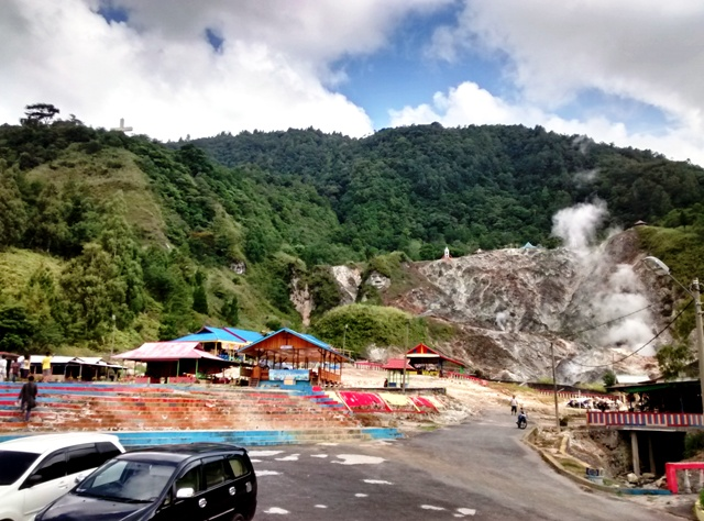 Bukit Kasih view from parking lot