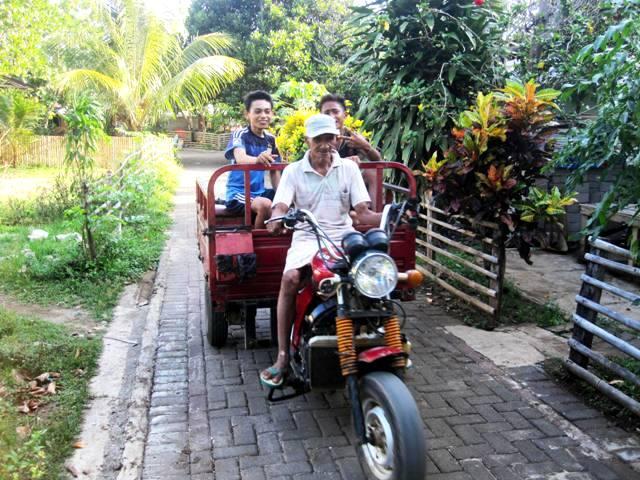 Bunaken Transport.Manado Sulawesi Indonesia
